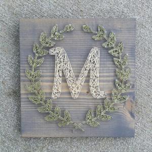 Customizable Handmade Letter Wall Art