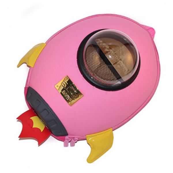 Space Rocket Backbag-Pink