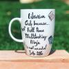 Librarian Hand-Painted Mug