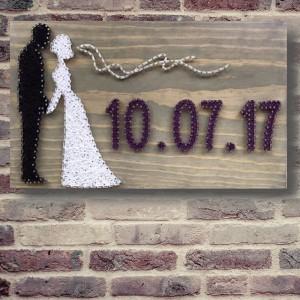 Customizable Handmade Wedding Wall Art