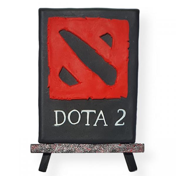 Handmade Dota 2 Art Painting
