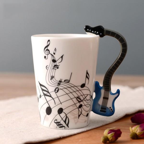 Guitar Mug - Blue