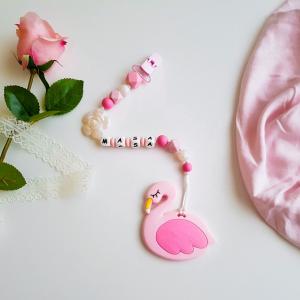Flamingo Teether - Pink