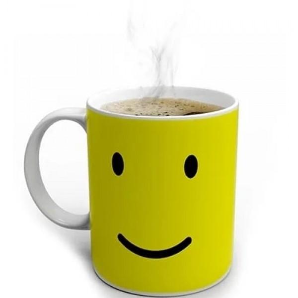 Heat-Sensing Smile Mug