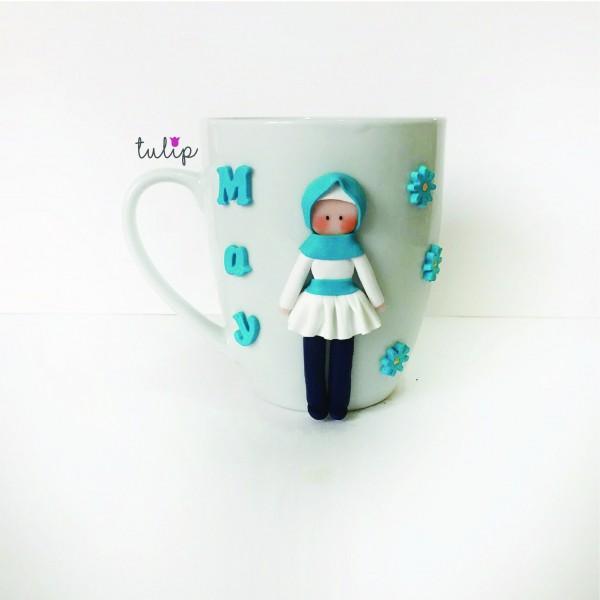 Hijab Style Mug - Blue