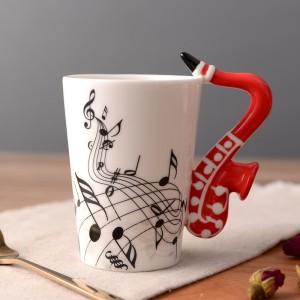 Saxophone Mug - Red