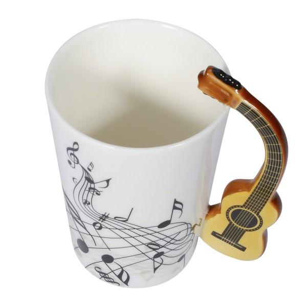 Guitar Mug - Brown