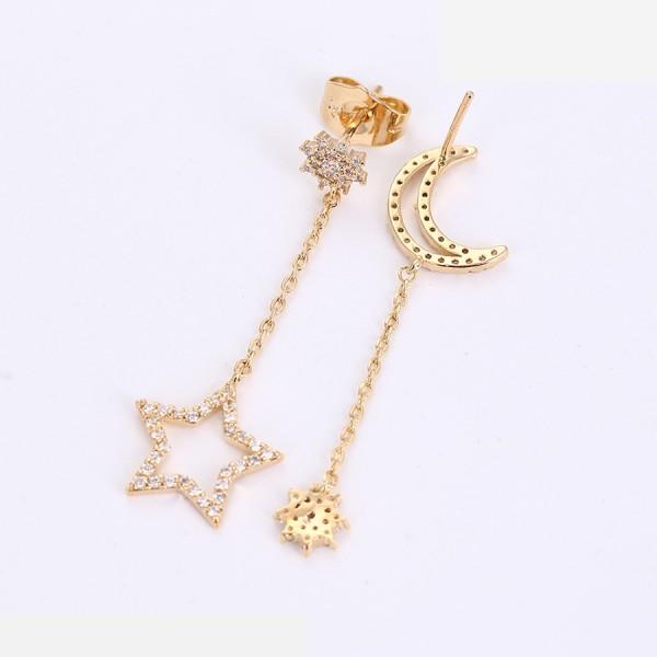 Star & Moon Earrings