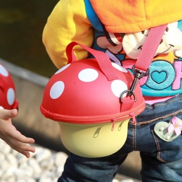Kids' Mushroom Handbag