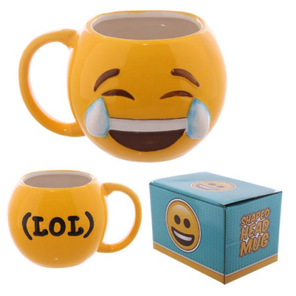 Joy Tears Emoji 3D Mug