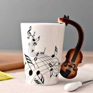 Violin Mug