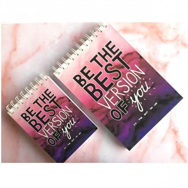 Best Version Notebook - White Blank