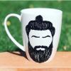 Strong Man Hand-Painted Mug