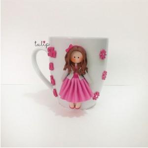 Classic Style Mug - Pink