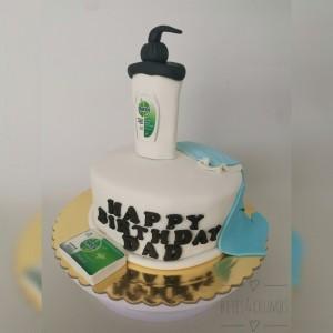 Sanitizer Cake