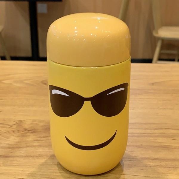 Emoji Travel Mug-Sunglasses