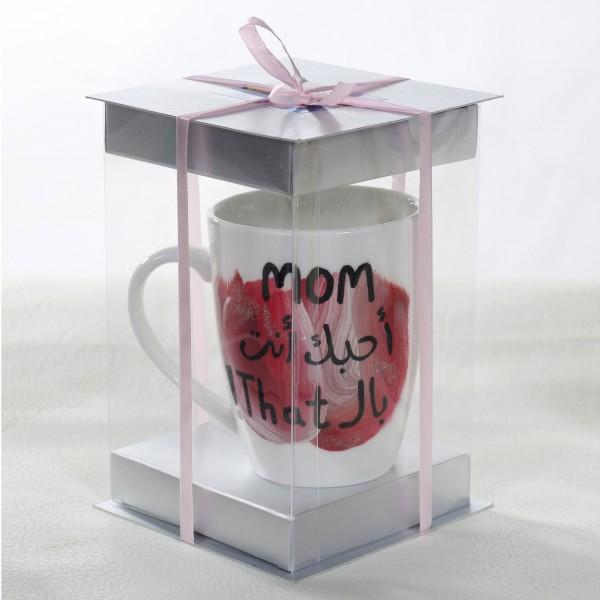 Mom Hand-Painted Mug