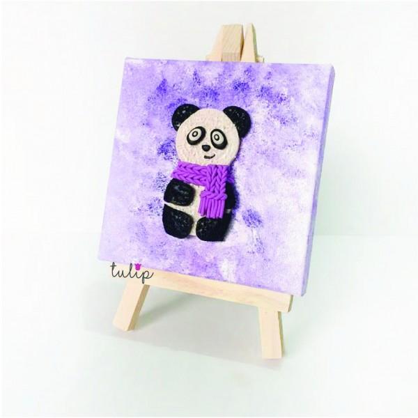 Panda Canvas Art