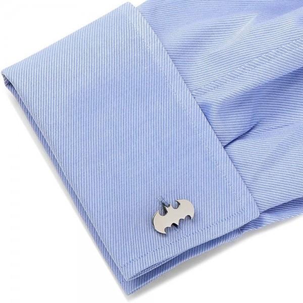 Silver Plated Batman Cufflinks Set