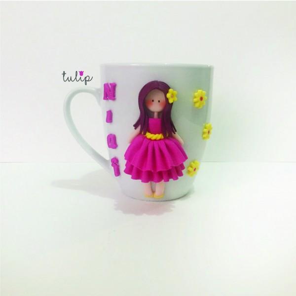 Classy Style Mug - Fuchsia