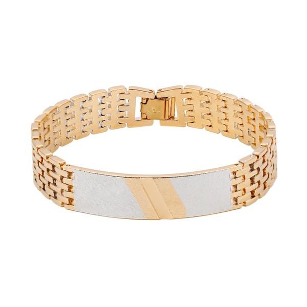 Curb Chain Link Bracelet