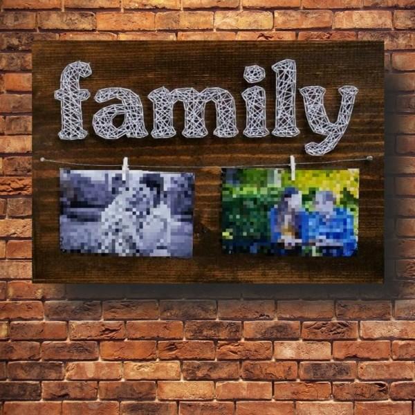 Customizable Handmade Family Wall Art
