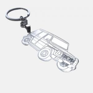 Mercedes-Benz G-Class Keychain - 100% Silver