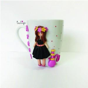 Hookah Girl Mug