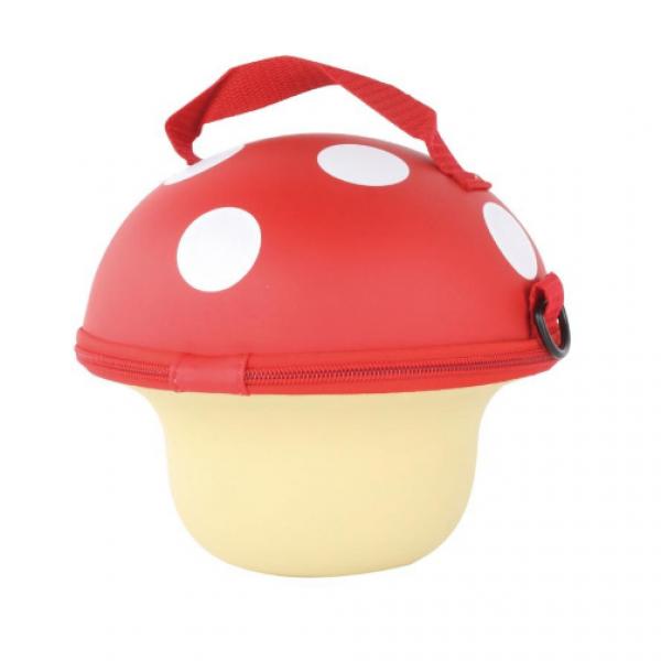 Mushroom Handbag-Red