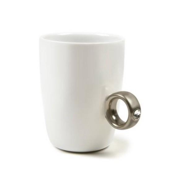 Ring Mug-Silver