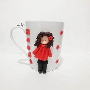 Spring Girl Mug