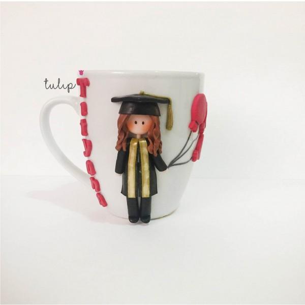 Graduated Girl Mug