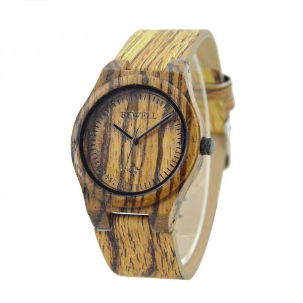 Ladies' Natural Wood Watch - Light Brown