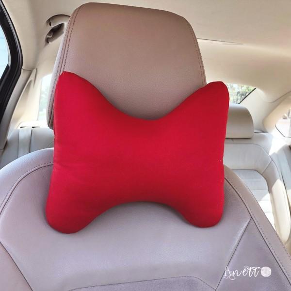 Car Cushion - Red