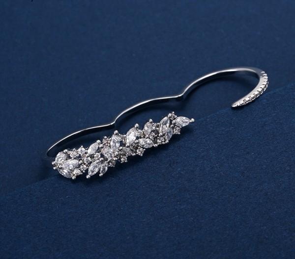 Rhodium Plated Elegant Ring