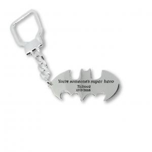 Batman Keychain - 100% Silver