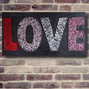 "Handmade ""Love"" Wall Art"