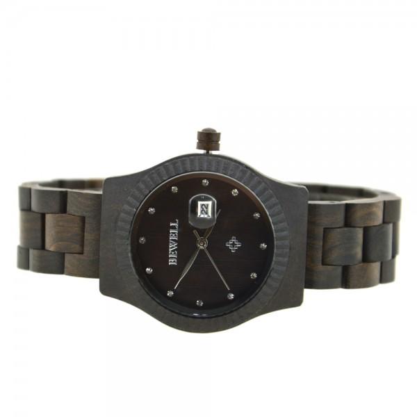 Ladies' Natural Wood Watch - Black