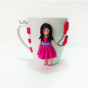 Balloon Girl Mug