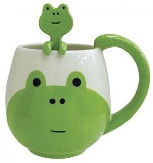 Frog Mug & Spoon