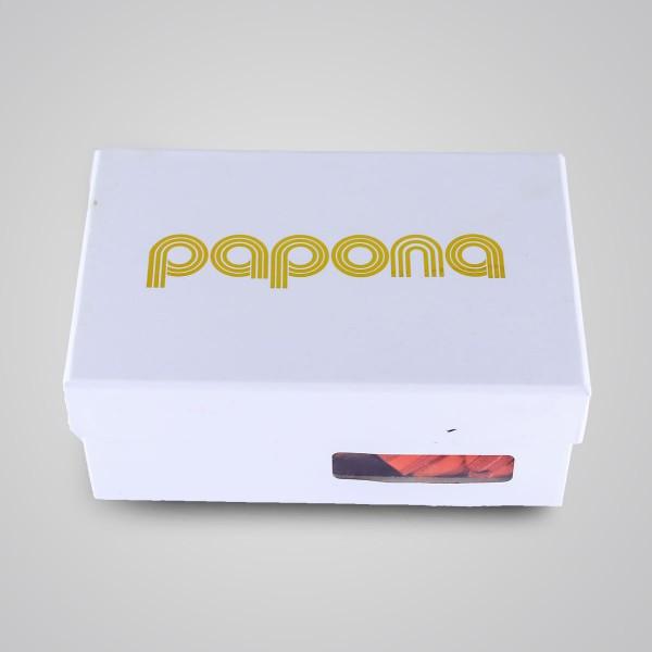 papona Striped Necktie Set - Red