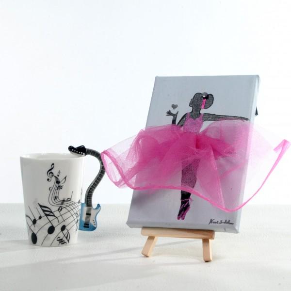 Ballerina Painting - Pink