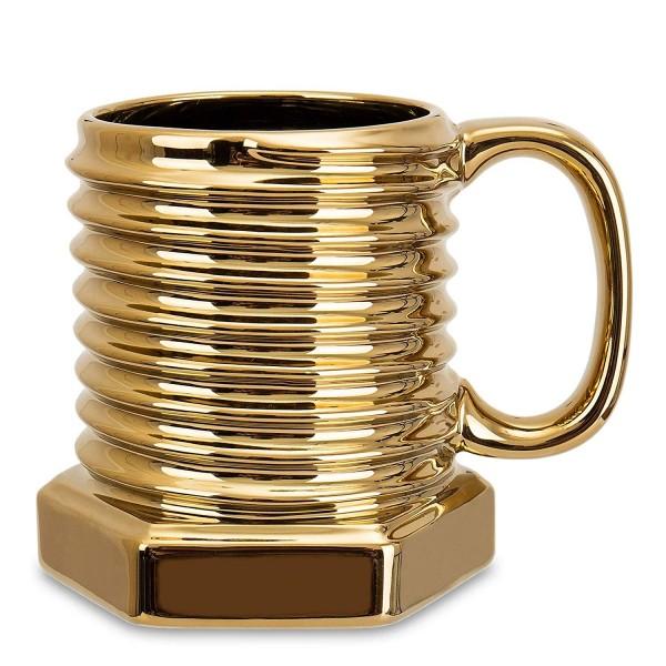 Screw Mug-Gold