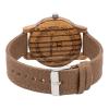 Men's Natural Wood Watches - Beige & Brown