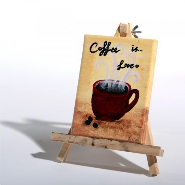 Coffee Love Painting