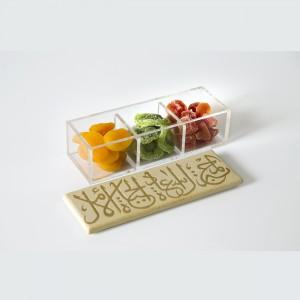 3-Section Snack Platter