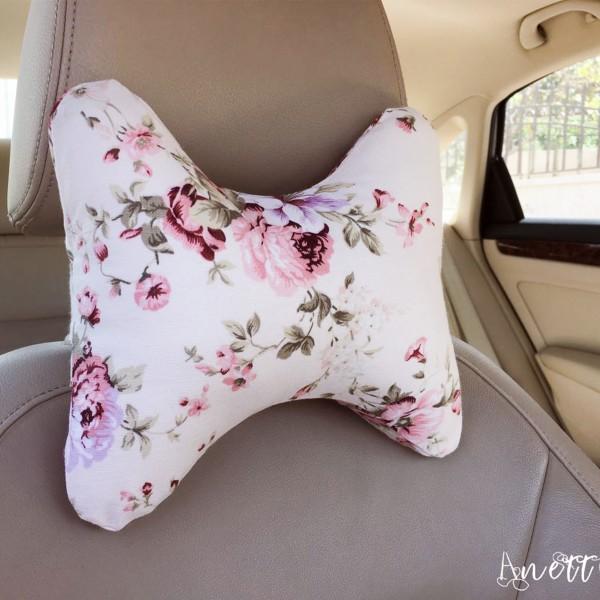 Roses Car Cushion