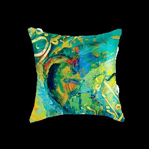 Geometric Cushion Cover - Multicolored