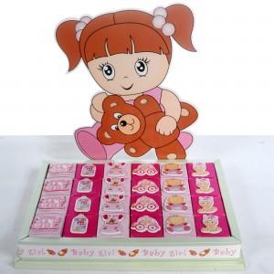 Welcome Baby Hazelnut Chocolate - (Girl/Boy)