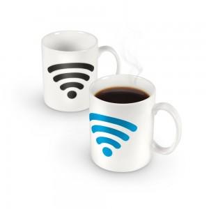 Heat-Sensing WiFi Mug